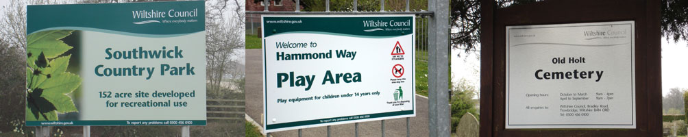 Local Authority & Public Signs