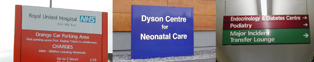 Hospital and Health Centre Signs