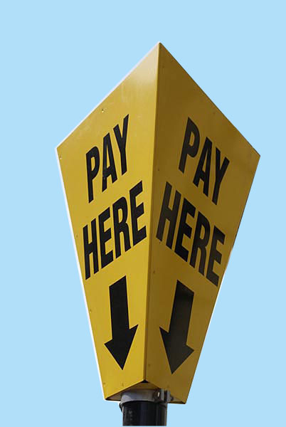 pay-here-sign