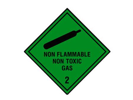 Non Flammable Non Toxic Gas