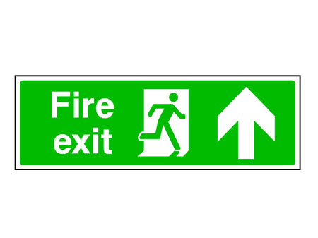 Fire Exit Up Arrow