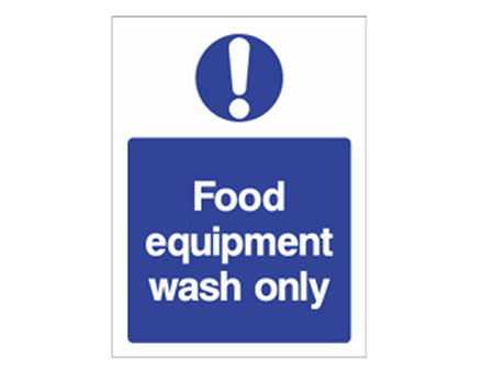 Food Equipment Wash