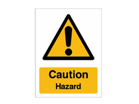 Caution Hazard  Mirage Signs