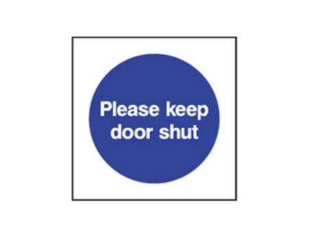Please Keep Door Shut