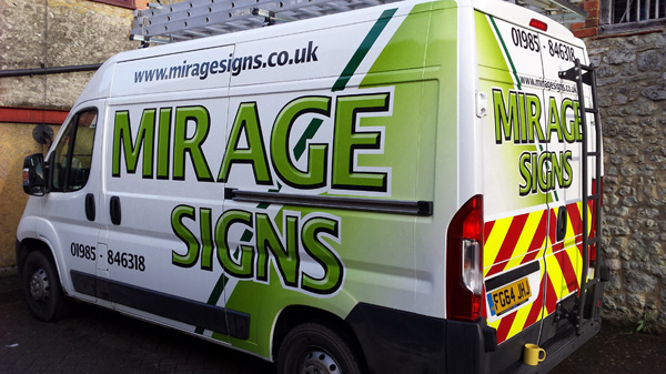 5a5f4412d0 ... the latest Mirage Signs vehicle. Mirage Van2