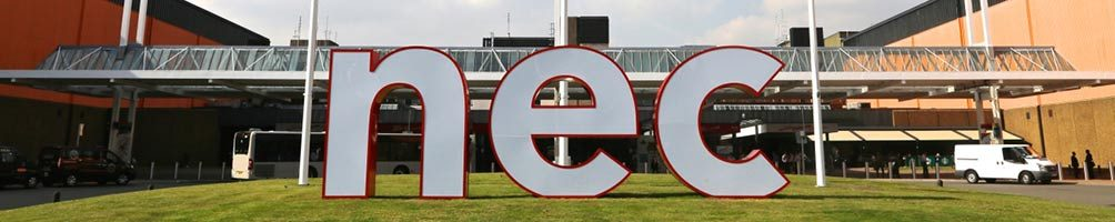NEC entrance by N-allen, wikipedia