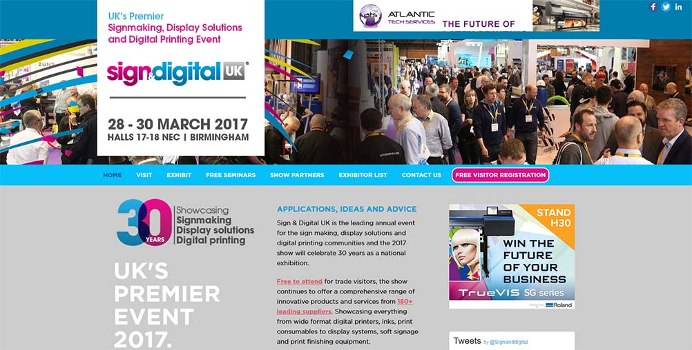 sign and digital uk 2017 - mirage signs