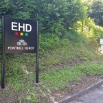 EHD London sign - Mirage Signs