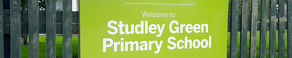 mirage signs studley green sign