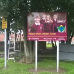 Amesbury CE Primary School sign