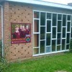Amesbury CE Primary School building sign