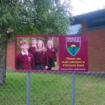 Amesbury CE Primary School information sign