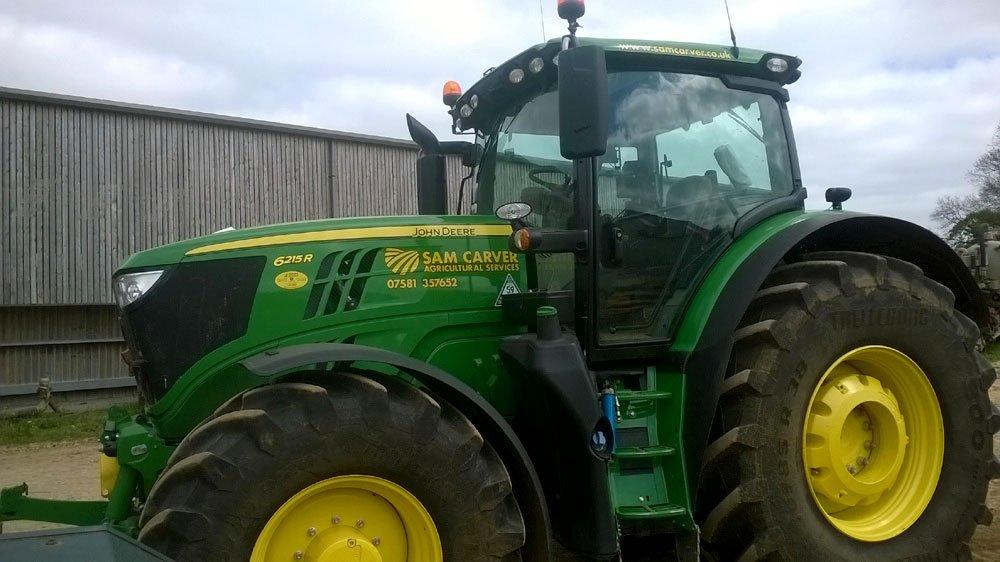 Agricultural vehicle graphics